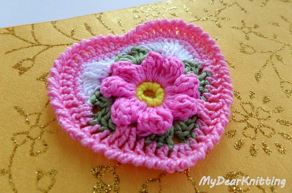 Easy Crochet Heart Tutorial Detailed Pattern Youtubeujf Flickr