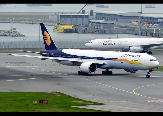 B777-35R/ER | Jet Airways | VT-JEH | HKG