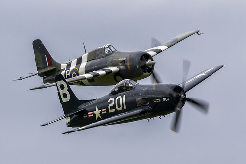 Grumman FM-2 Wildcat and F8F-2P Bearcat - 5 | by NickJ 1972