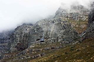 Seilbahn am Tafelberg in Kapstadt