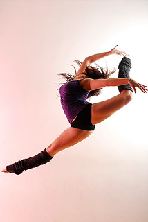 Dance Photography - Female Dancer Jumping In Action | by vanitystudiosphotography