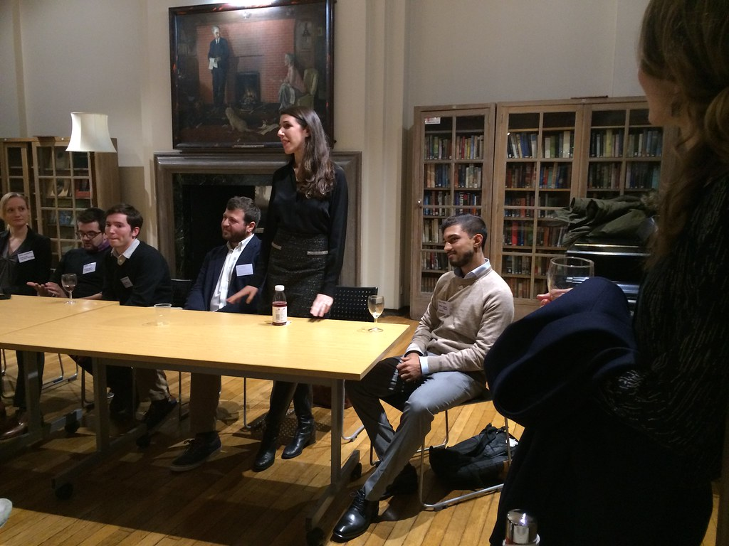 Alumni Event   in the Shaw Library   LSE Philosophy   Flickr