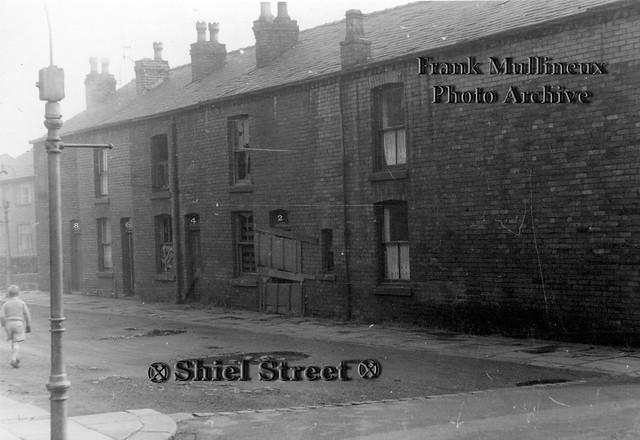 1950s Walkden: Shiel Street