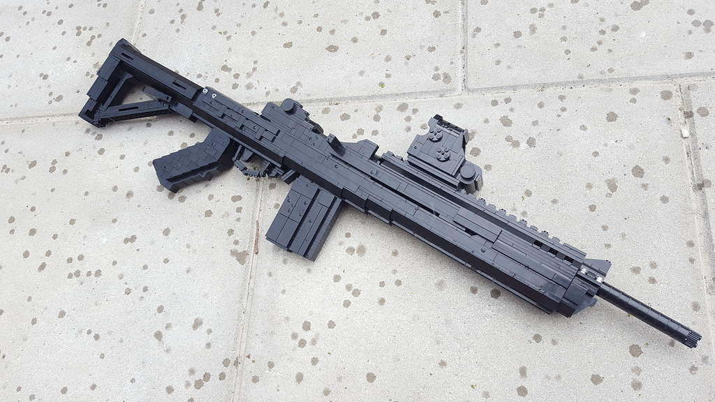 RUGER MINI 14 its done Attachments: TAPCO stock EOTECH XPS