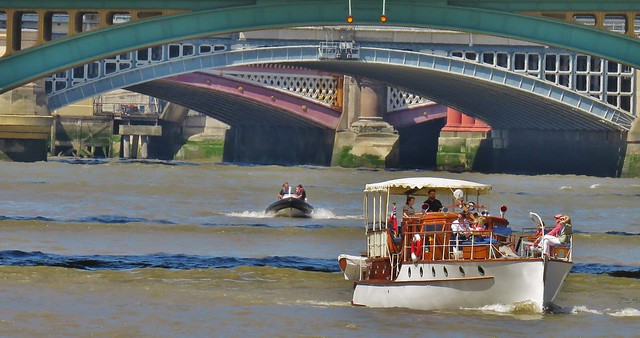 Boats on The Thames, London