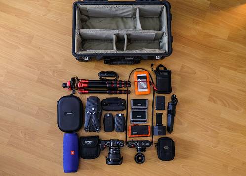 Contents of my Pelican for my Cabo trip