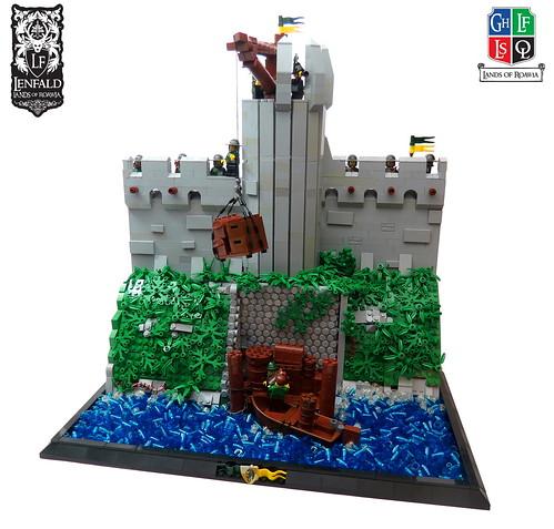 Port Emerald Walls and Dock | by Kingdomviewbricks