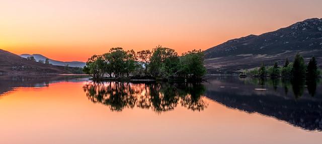 Loch Tarff Reflections.