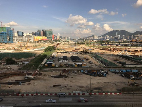 Works at the old Kai Tak Airport site | by Simon_sees