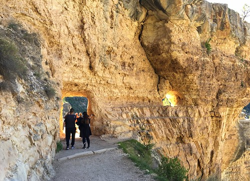 Tunnel on the Bright Angel Trail, Grand Canyon National Park, Arizona