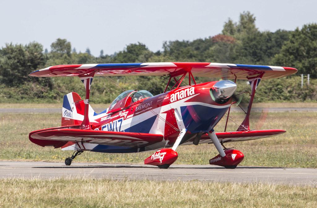 EGLK - Pitts S-1S Special - G-EWIZ