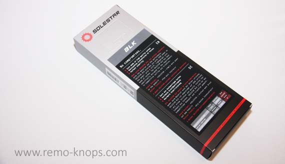 Solestar Kontrol BLK Cycling Insoles 6601