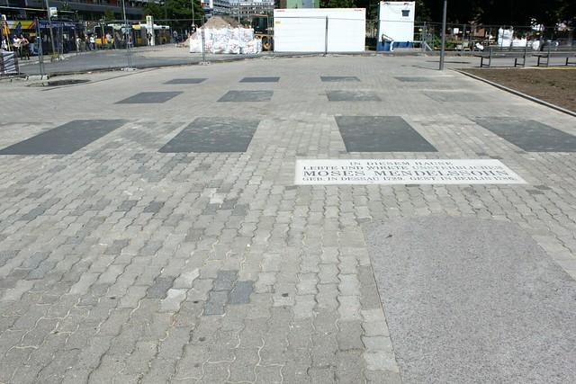 Bodendenkmal für Moses Mendelssohn