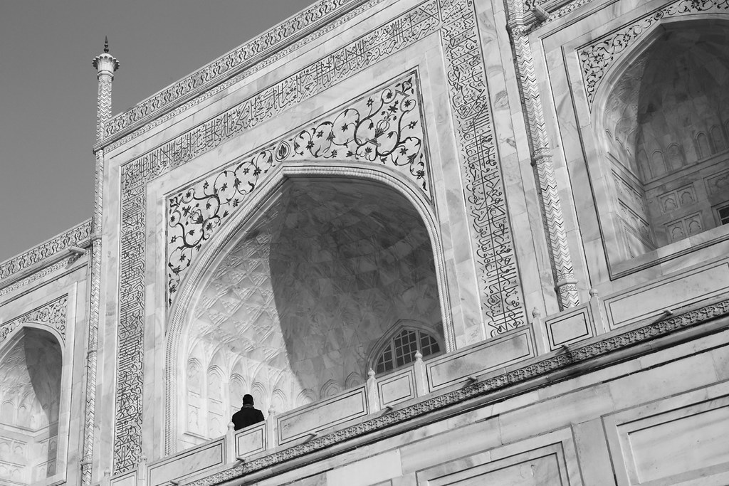 Alone At The Taj Mahal | Peter Kelly | Flickr