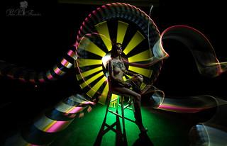 Workshop Nude Art Light. Lightpainting
