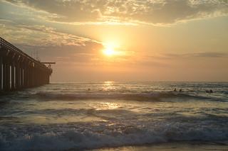 Summer Scripps Sunset