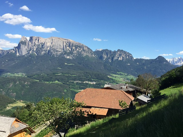 Ritten with a view to Schlern, #South Tyrol, Italy