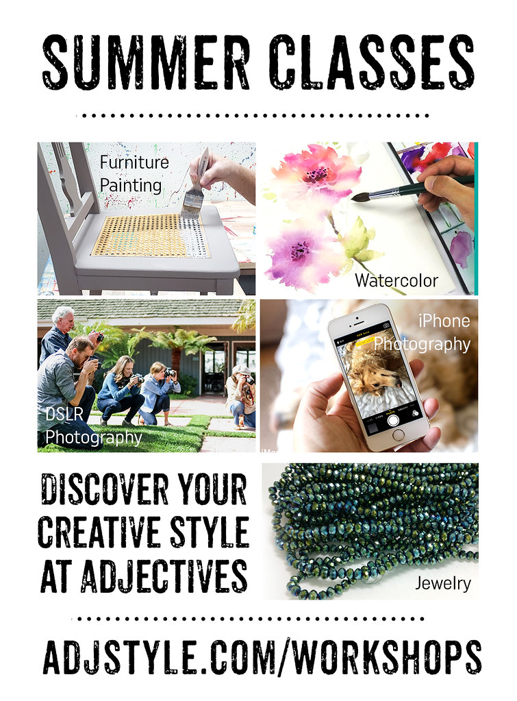 Discover your creative style at Adjectives!