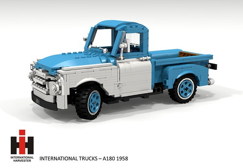 International Harvester A180 Pickup (1958)