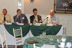 Rep. Harding and fellow legislators on the Environment Committee attend a CT Recyclers Coalition Breakfast
