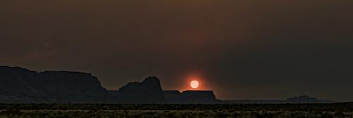 2017 america arizona canon5dmarkiv hdr june southwest tamronsp85mmf18divcusd desert landscape nature sky smoke sunset red sun
