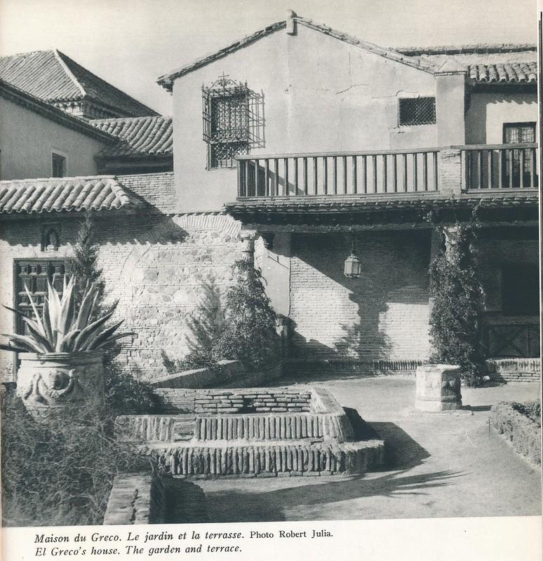 Casa del Greco. Libro de Víctor Crastre. Foto de Robert Julia