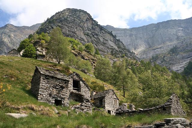 Alpe Rozzera, Valle Verzasca. Canton Ticino, Svizzera