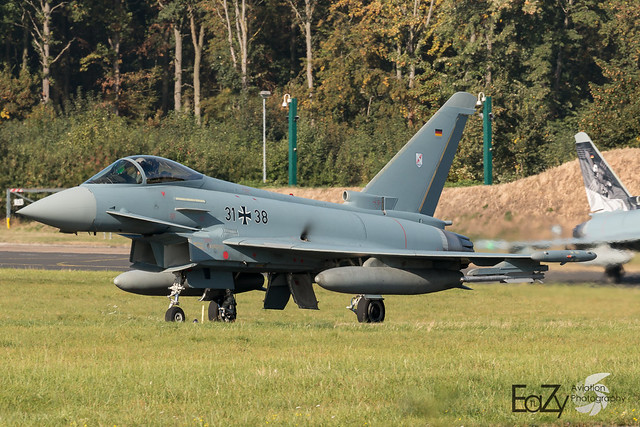 31+38 German Air Force (Luftwaffe) Eurofighter Typhoon
