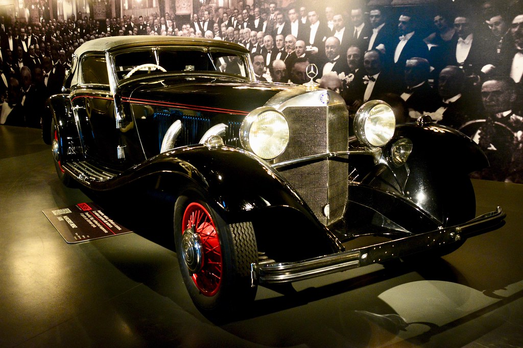 Museo Mercedes Benz.Turin 2017 Museo Nazionale Dell Automobile 1936 Merced Flickr
