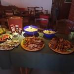 Am Abend wird fein gespeist