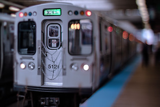 CTA Green Line to Harlem | by Jovan Jimenez