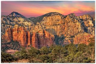 Sedona Arizona Sunset at Golden Hour