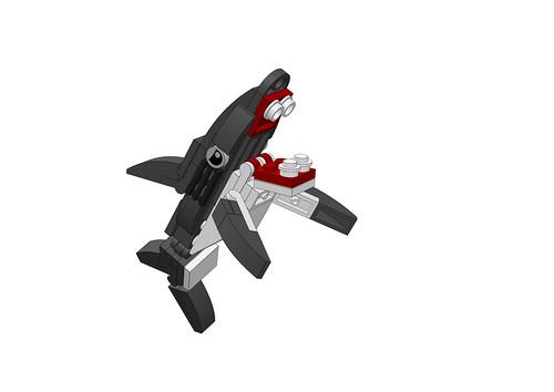 무시무시한 상어!! _lego JAWS _ BLI 0301 / 조립도_레고_lego