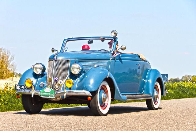 Ford V8 Cabriolet 1936 (8677)