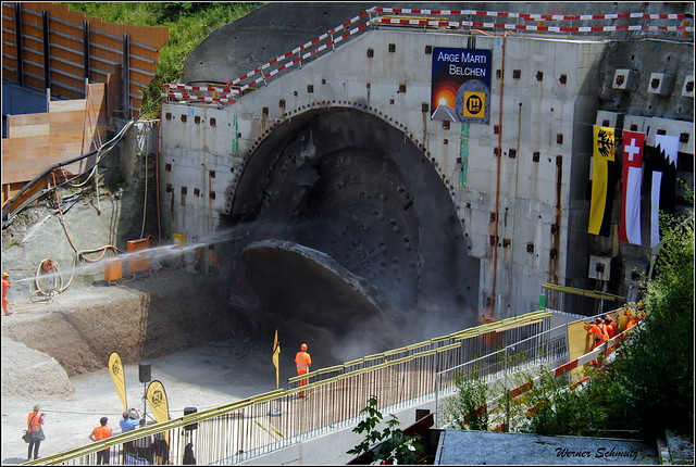 Tunnelbau - Tunneling throughput (in explore)