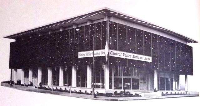 Central Valley Bank - Oakland, Calif. - Main Branch - 1963