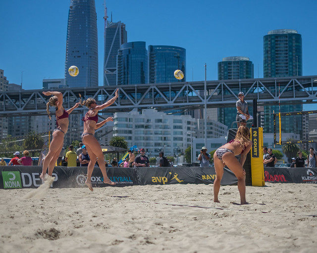 AVP volleyball: San Francisco Open