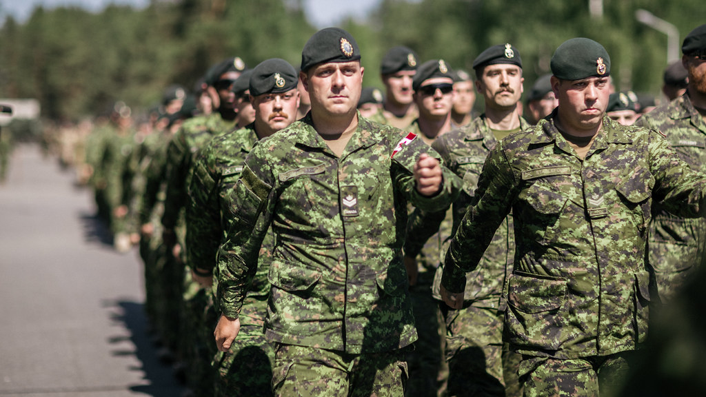 On June 19, 2017 at the Camp Adazi in Latvia the enhanced Forward Presence Battlegroup Welcome Ceremony took place.