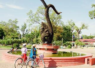 Naga for Peace Statue in Battambang, Cambodia -1 | by OXLAEY.com