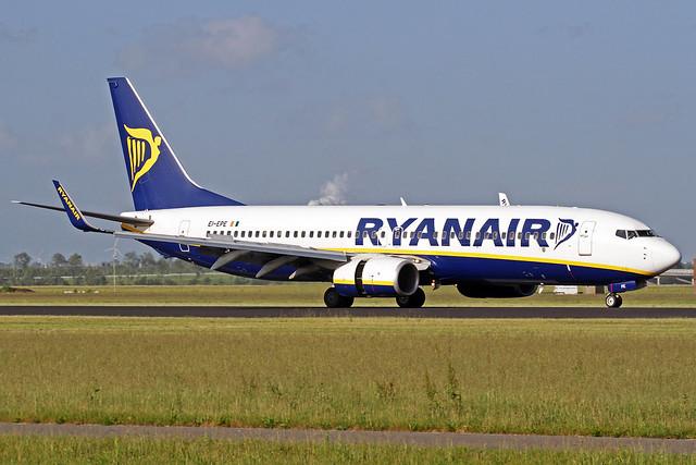 Ryanair Boeing 737-8AS EI-EPE AMS 09-06-17