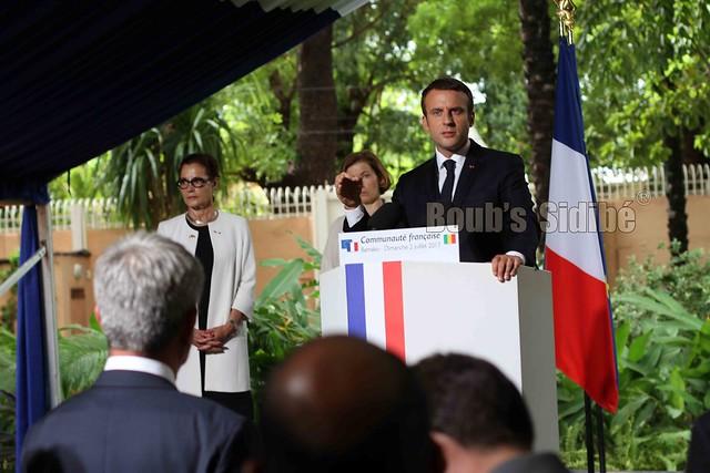 Reception Emmanuel Macron Bamako - 97 sur 144