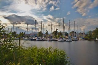 Yachthafen am Ryck