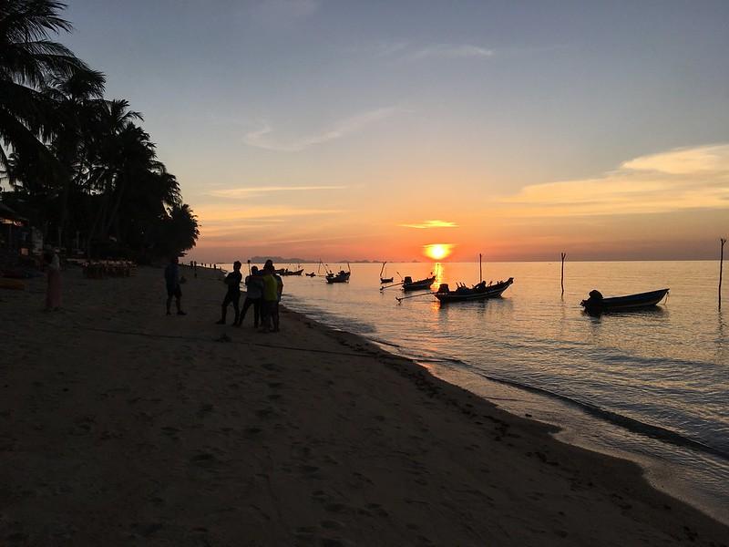 サムイ島 サンセット