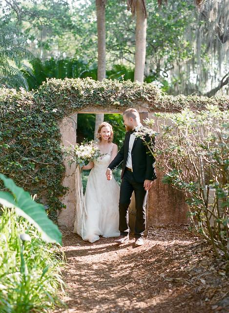 Wedding in Bok Tower Gardens