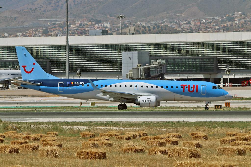 OO-TEA Embraer 190-100STD TUI Airlines Belgium AGP 06-06-17