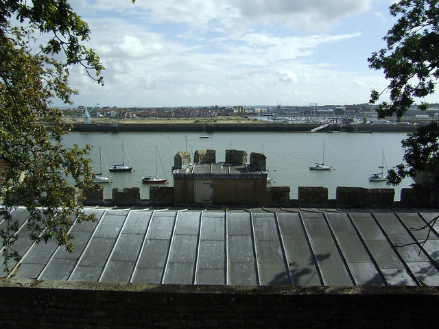 View from Upnor Castle