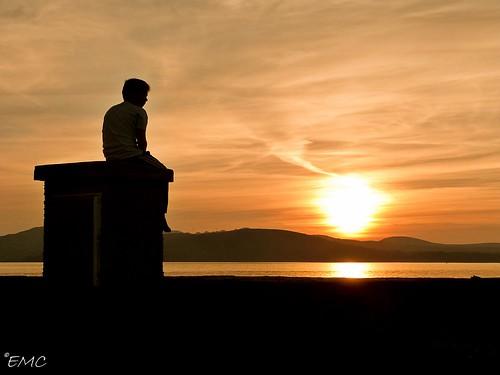 ireland donegal buncrana sunset seascape coastal sky dusk panasonicdmcfz48 inishowen thewildatlanticway
