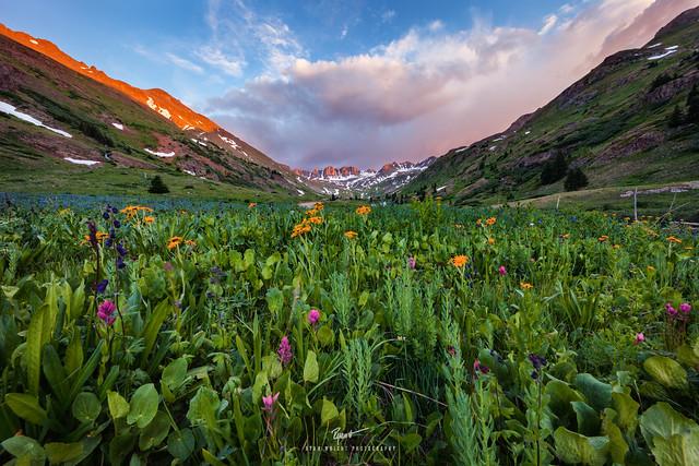 Weminuche Wilderness Sunset