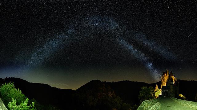 Medieval Dream - the starry sky of Eltz Castle