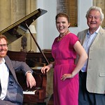 With soprano Roma Loukes and bass baritone Huw Morgan